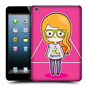 Head Case Designs Hipster Cool Girls Protective Snap-on Hard Back Case Cover for Apple iPad mini with Retina Display