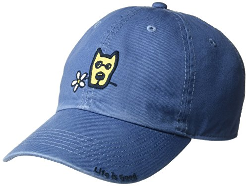 Life is good A Chill Cap, Vintage Blue, One Size