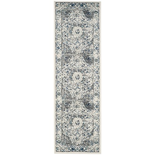 Safavieh Evoke Collection Evk220d Vintage Oriental Grey And Ivory Runner  22 X 21