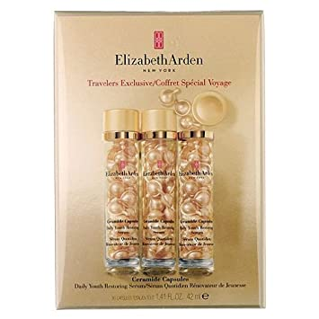 Elizabeth Arden Ceramide Capsules Daily Youth Restoring Serum, 90 Ct NatureSoft Flushable Cleansing Dry Wipes  9X13 - 500 Each
