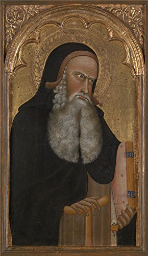 Polyster Canvas ,the High Resolution Art Decorative Prints On Canvas Of Oil Painting 'Giovanni Di Nicola Saint Anthony Abbot ', 12 X 21 Inch / 30 X 53 Cm Is Best For Basement Decor And Home Artwork And Gifts (80s Workout Costumes Diy)