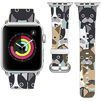 Amazon.com: Printcase Apple Watch Band 38mm 42mm, Genuine