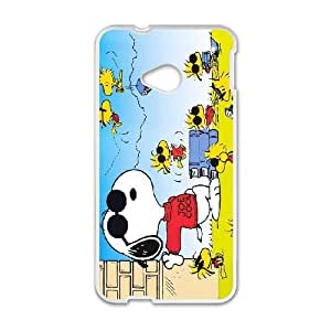 Snoopy For HTC One M7 Custom Cell Phone Case Cover 96II657078