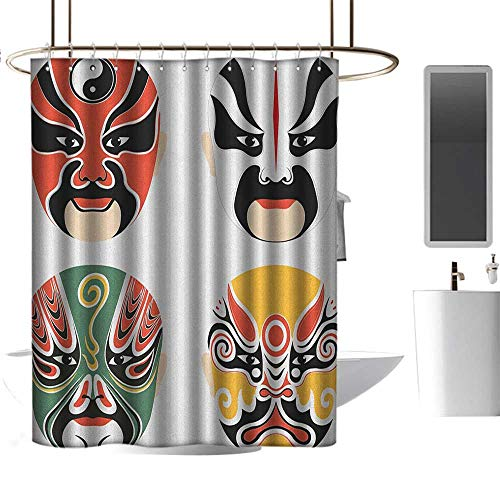 TimBeve Shower Curtain Liner Mildew Resistant Kabuki for sale  Delivered anywhere in Canada