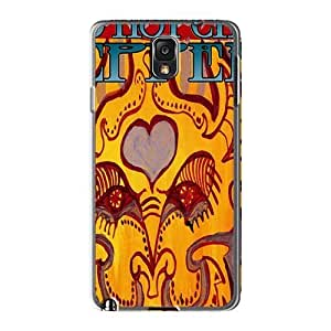 Scratch Protection Hard Phone Cases For Samsung Galaxy Note3 (uBu13157Fbok) Allow Personal Design Vivid Red Hot Chili Peppers Pictures