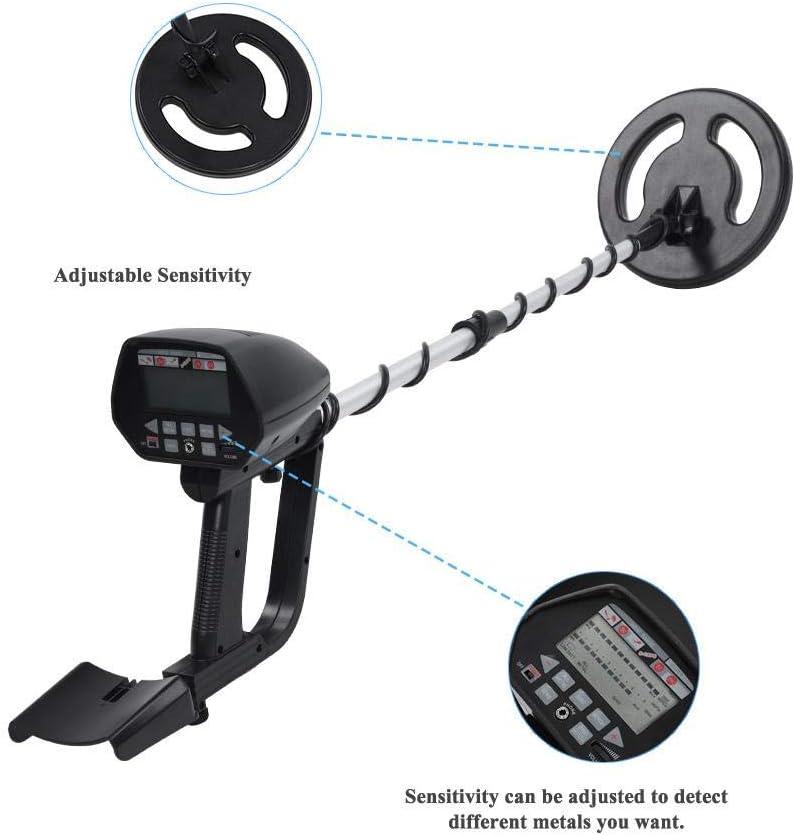 Scanner f/ür Schatzj/äger Zerone MD4050 Metalldetektor Pinpointer einstellbare Empfindlichkeit Finder Detektor mit LCD-Display f/ür Arch/äologische Erkundung Silberm/ünzen Goldbagger
