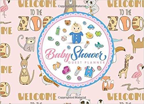 baby shower guest planner blank guest list book guest list pages