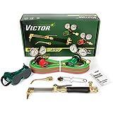 Victor Technologies 0384-2540 Medalist 250 System Medium Duty Cutting System, Acetylene Gas Service, G250-15-510 Fuel Gas Regulator by ESAB