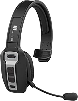 Truck Drive Wireless Bluetooth Headset on Ear Call Center Bluetooth Headphones with Microphone Noise Canceling PC Headset with Mute Key Clear Sound for Cell Phones Tablet Home Office Skype