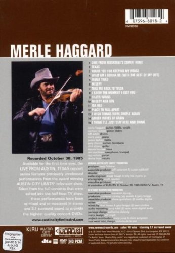 Merle Haggard - Live from Austin, TX by RED Distribution