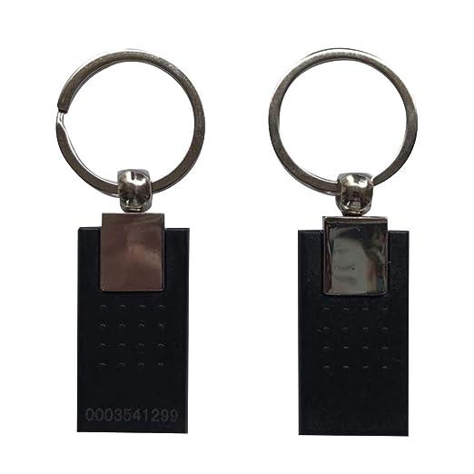 125 KHz RFID acceso Llavero Nuevo estilo de metal color ...