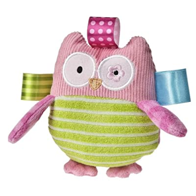 Taggies Oodles Owl Plush Rattle from Taggies