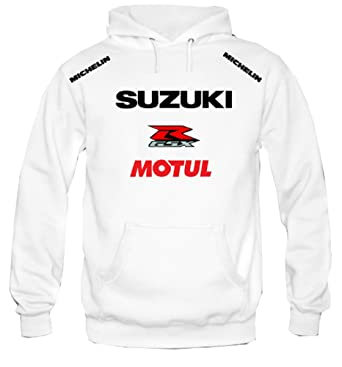 5f4d4259ad6b Sweat à Capuche Sweat-Shirt Suzuki MOTUL Moto Racing Rally  Amazon ...