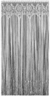 product image for Heritage Lace Gala 60-Inch Wide by 84-Inch Drop Fringe Panel, Ecru