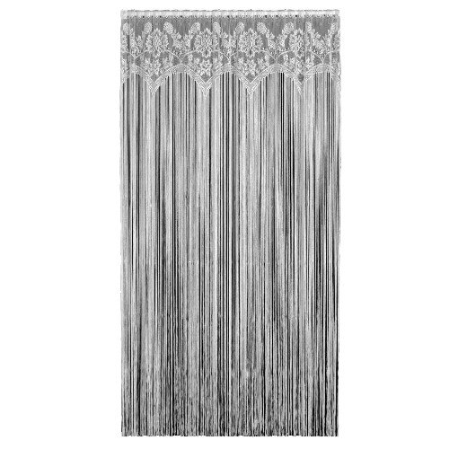 Heritage Lace Gala 60-Inch Wide by 84-Inch Drop Fringe Panel, Ecru from Heritage Lace