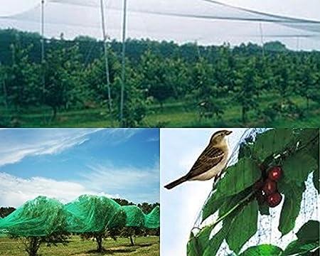 Vogelschutznetz 5 x 10m Laubschutznetz Gartennetz Teichnetz Masche 30x30mm