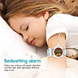Bedwetting Alarm for Boys Girls Kids - Pee Alarm with Sound and Vibration to Cure Bed Wetting via Enuresis Sensors