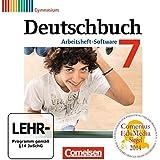 Deutschbuch 7. Schuljahr. Gymnasium Allgemeine Ausgabe. Übungs-CD-ROM zum Arbeitsheft