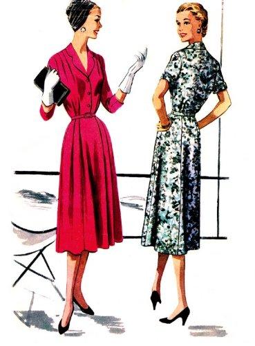 50s dress patterns mccalls - 8