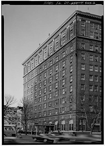Photo: Powhatan Hotel,Pennsylvania Ave,18th Street,Washington,District of Columbia,DC,1