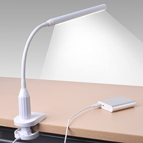Sunix scorpio flexible gooseneck clip on led desk lamp dimmable sunix scorpio flexible gooseneck clip on led desk lamp dimmable table lamp eye aloadofball Images