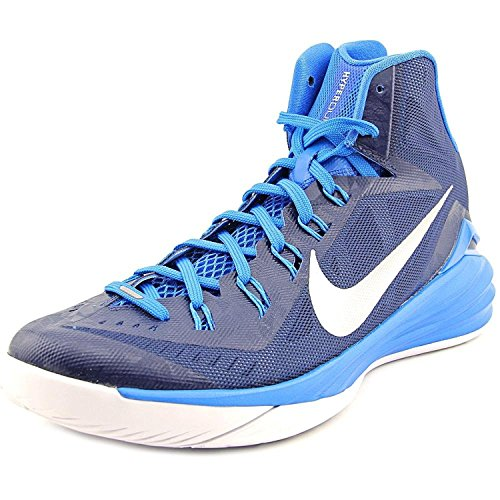 Mens Nike Hyperdunk 2014 TB Basketball Shoe Midnight Navy/Photo Blue/White/Metallic Silver Nike