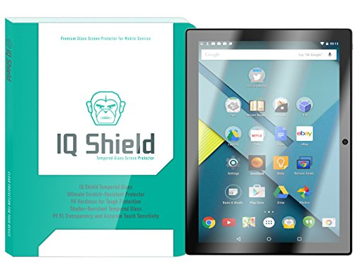 n Protector, IQ Shield Tempered Ballistic Glass Screen Protector for Google Pixel C (10.2