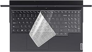 MUBUY Keyboard Cover Skin for 2020 Lenovo Legion 5 Series Legion 5 5i 15.6 Inch and 17.3 Inch |Legion 7i Gaming Laptop Keyboard Protective Skin-Clear