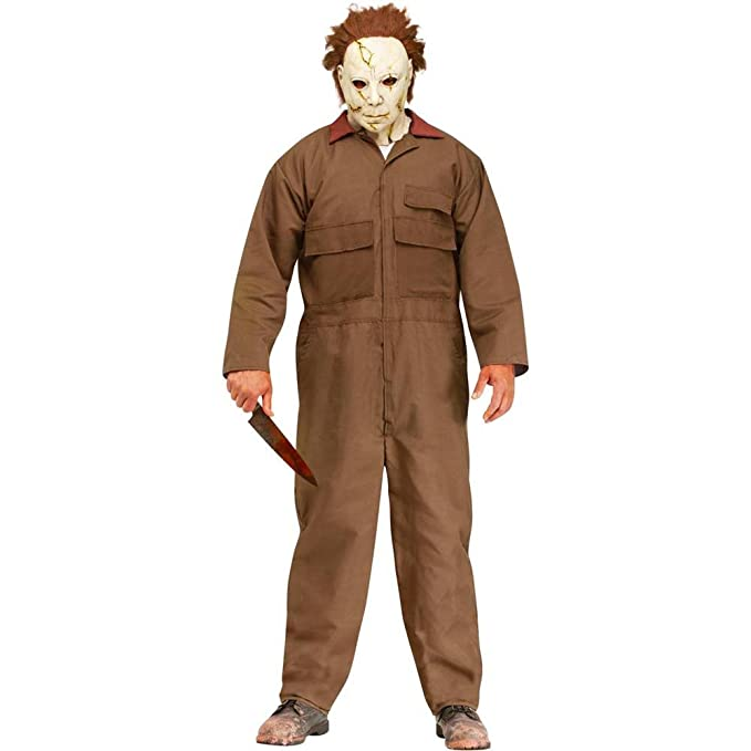 Amazon.com Fun World Rob Zombie Halloween Michael Myers Mens Costume Clothing  sc 1 st  Amazon.com & Amazon.com: Fun World Rob Zombie Halloween Michael Myers Mens ...