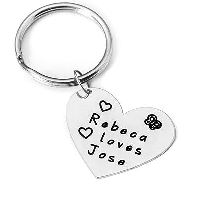 amazon com personalized keychain engraved keychain personalized