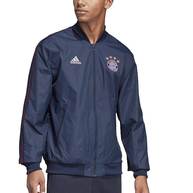 Amazon.com: Adidas FC Bayern München Anthem - Chaqueta para ...