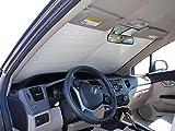 HeatShield The Original Auto Sunshade, Custom-Fit for Honda Civic Sedan 2012, 2013, 2014, 2015, Silver Series