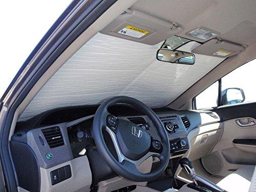 HeatShield The Original Auto Sunshade, Honda Civic Sedan 2012, 2013, 2014, 2015, Silver Series