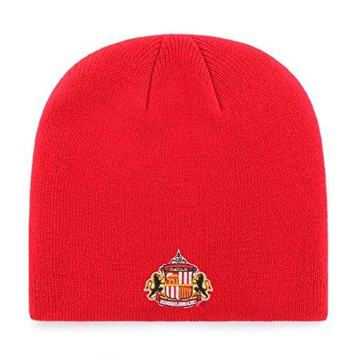 International Soccer Sunderland EPL OTS Beanie Knit Cap, Red, One Size