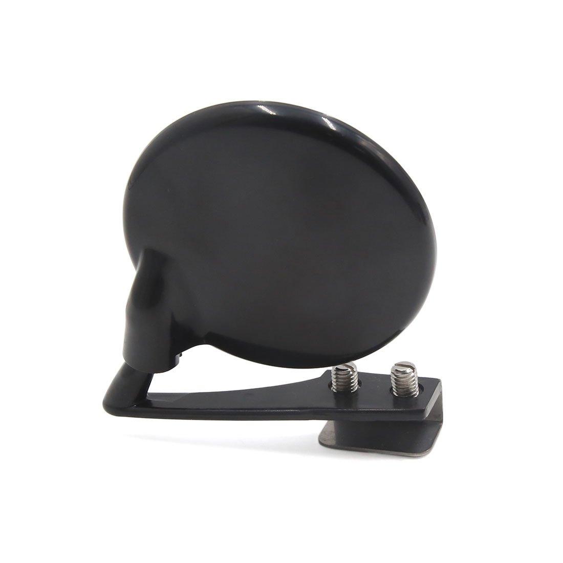 sourcingmap/® Montage /à vis rond noir grand angle incurv/ées Blind Spot R/étroviseur pour voiture