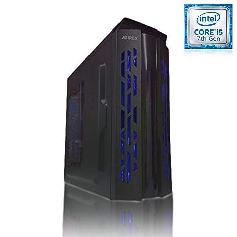 PC Sobremesa Ordenador Azirox Rain Blue Intel i5 7400 3,00 GHz 4 ...