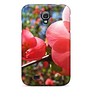 New Snap-on Steptone Skin Case Cover Compatible With Galaxy S4- Cherry Flowers