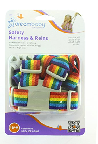 Dreambaby Safety Harness Reins Rainbow product image