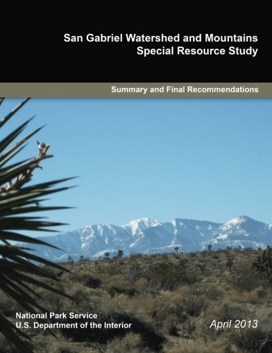 Monolith Water (San Gabriel Watershed and Mountains: Special Resource Study)