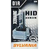 SYLVANIA - D1R Basic HID (High Intensity Discharge) Headlight Bulb - High Performance Bright, White, and Durable Lamp (Contains 1 Bulb)
