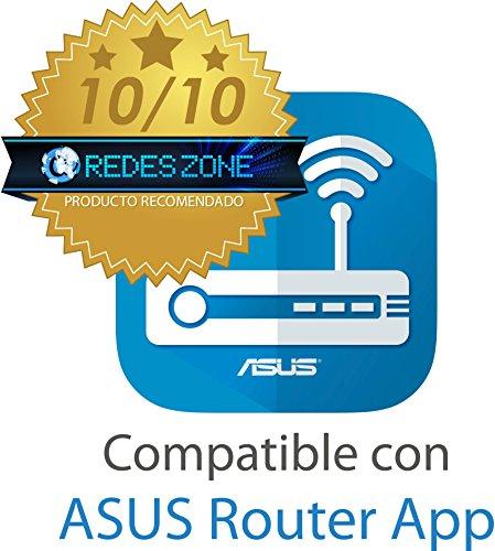 ASUS RT-N12 D1 - Router inalámbrico N300 con Antenas Desmontables de 5dBi (Modo Punto de Acceso y repetidor, Compatible con...