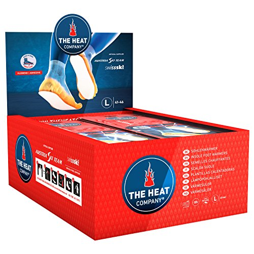 The HEAT company Insole Foot Warmers Adhesive | EXTRA WARM | 8 Hours of Warmth |...