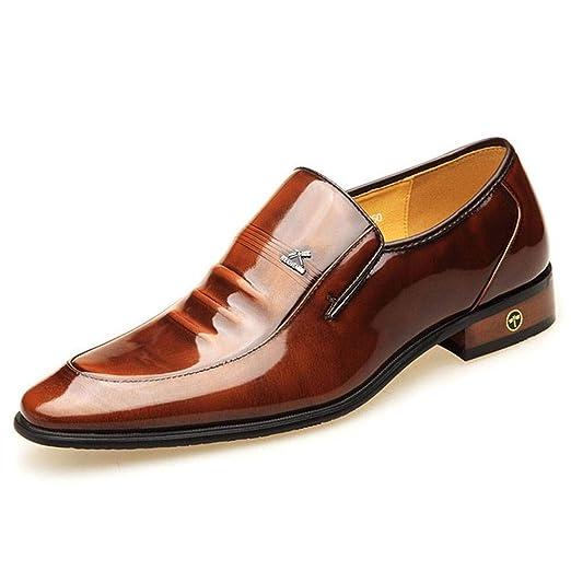 CYY LinkLvoe Zapatos de Vestir para Hombre, Zapatos de Cuero ...