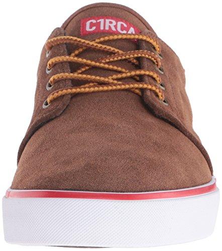 C1RCA Drifter - Zapatillas Unisex adulto Marrón - Braun (Brown White)