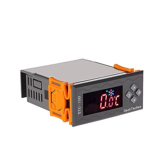 7 opinioni per KKmoon Per Tutti Gli Usi Ad Alta Precisione DC 12V LED Digitale Temperatura