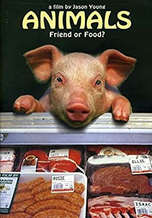DVD cover for Animals: friend or food?