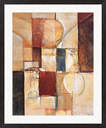 Speculation I by Richard Hall Framed Art Print Wall Picture, Espresso Brown Frame, 31 x 37 inches