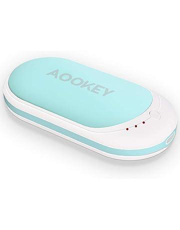 AOOKEY Calentador de Manos 5200mAh USB Recargable Calentador de Mano powerbank