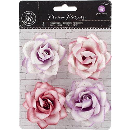 (Prima Marketing Kindled Mulberry Paper Flowers 2.5