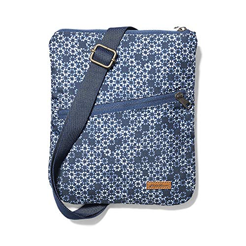 Eddie Bauer Unisex-Adult Connect 3-Zip Travel Bag, Blue Smoke Regular ONESZE